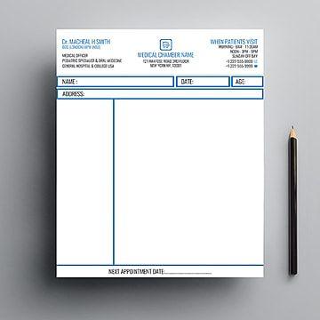 قالب تصميم وصفة طبية In 2021 Design Template Design Templates