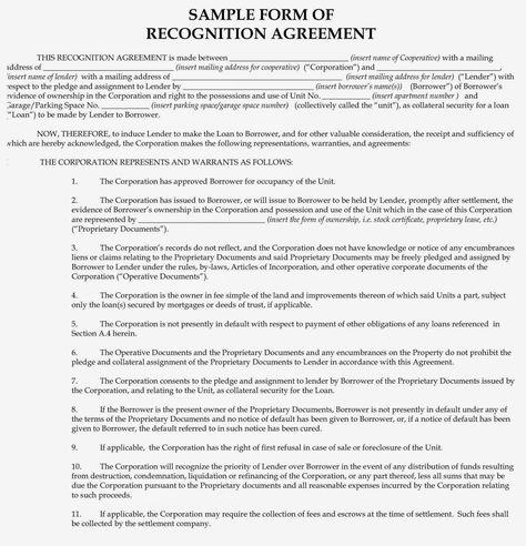 Aztec Recognition Agreement Form Heartpulsar
