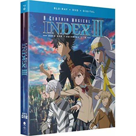 A Certain Magical Index Iii Season Three Part One Blu Ray Dvd Walmart Com A Certain Magical Index Magical Favorite Character