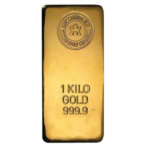 1 Kilo Royal Canadian Mint Rcm Gold Bar 9999 Fine Gold Bullion Bars Gold Bar Gold Coin Price