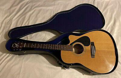 Used Yamaha Fg 411ce Acoustic Electric Guitar With Case Guitar Acoustic Acoustic Electric Guitar
