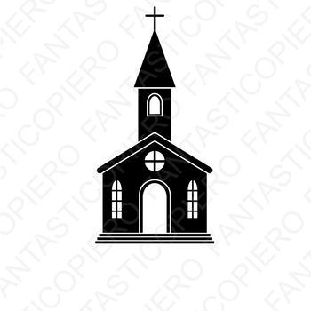 Church Svg Files For Silhouette Cameo And Cricut Church Clipart Png Included 1 Svg Vector Files For Silhouette Stu Silhouette Cameo Church Building Silhouette