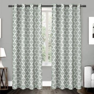 The Curated Nomad Goodlett Cotton Grommet Top Curtain Panel Pair