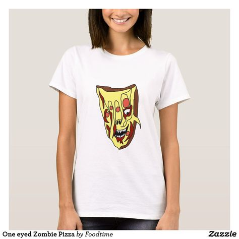 One eyed Zombie Pizza T-Shirt