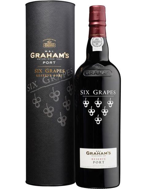 Graham S Reserve Six Grapes Port Wine Vinho Do Porto Vinhos Vinho