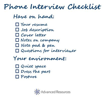 Get Some Great Phone Interview Tips to Make the Best Impression - thank you letter after phone interview