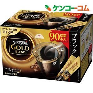 ネスカフェ ゴールドブレンド スティック ブラック 90本入 ネスカフェ Nescafe ネスカフェ コーヒー ブランド コーヒー