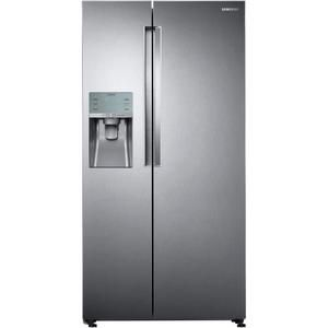 Samsung Rs58k6537sl Refrigerateur Americain 575 L 395 180 L Froid Ventile Integral A L 90 8 X H182 5 Cm Inox Premium Refrigerateur Americain Inox Samsung