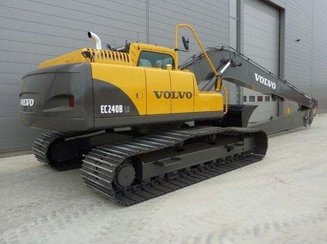 caterpillar volvo ec240b lr ec240blr excavator service repair rh pinterest com Kubota F2880 Parts Diagram F3680 Kubota Mower