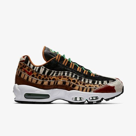 Atmos x Nike Air Max 95 DLX Animal Pack | Sneakers ❤ in
