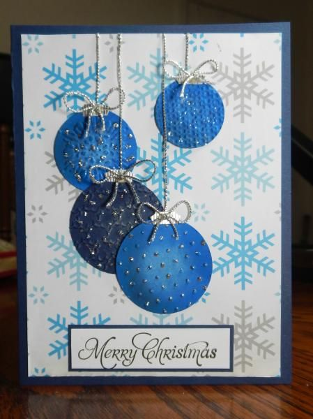 CT0114   Wrapped Ornaments   More By Loll Thompson   Cards And Paper Crafts  At Splitcoaststampers | Scrapbooking Christmas | Pinterest | Cards,  Ornament And ...