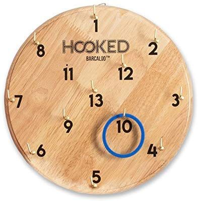 Amazon Com Barcaloo Hooked Hook And Ring Game For Adults