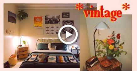 Decorating Our Vintage Aesthetic Bedroom Kel Lauren Aesthetic