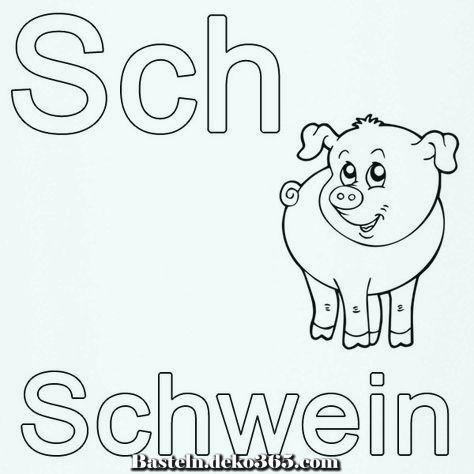 Lerne Buchstaben Zu Zeichnen Kostenlos Ausmalbilder Kostenlos Schweinefleisch Futtern Basteln Mit Kids Buchstaben Lernen Abc Malvorlagen Ausmalen