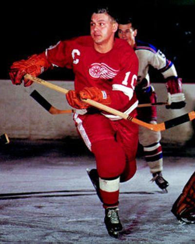Alex Delvecchio Detroit Red Wings Detroit Red Wings Detroit