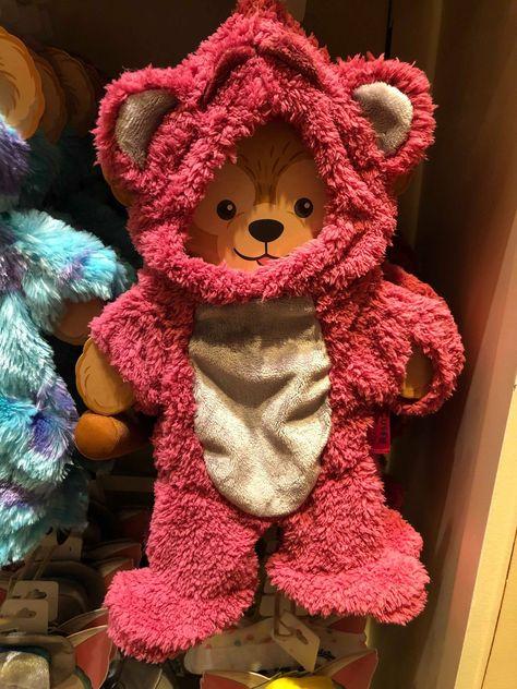 Tokyo Disney Sea Character HKDL Duffy Bear Plush Lotso Costume Set