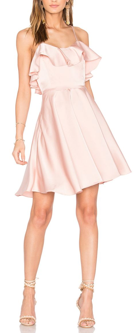 Cute ruffled dress - under $100!