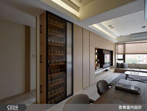 破解樑柱老屋的秘方 通通在27坪簡約現代宅裡 Minimalist Living