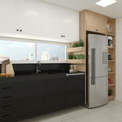 Cozinha Em 2020 Cozinha Arquitetura Moderna Cozinha Embutida