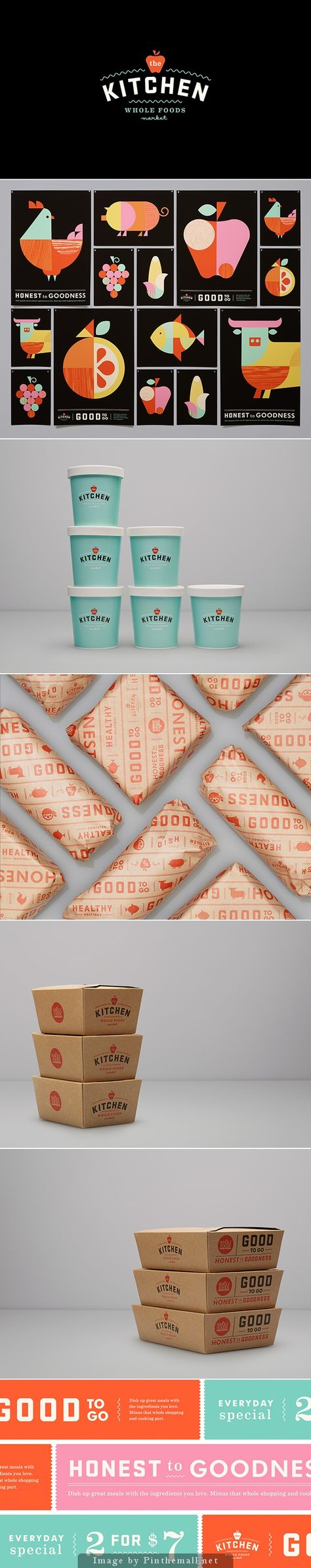 Identity / The Kitchen - Whole Foods by Moniker SF