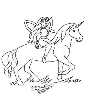 Ausmalbild Einhorn Und Fee Zum Kostenlosen Ausdrucken Und Ausmalen Fur Kinder Ausmalbilder Malvor Ausmalbilder Malvorlage Prinzessin Ausmalbilder Einhorn