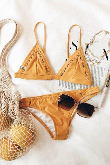 ec8a33fc3a8 Lulus | My Cheeky Mustard Yellow Bikini Bottom | Size X-Large ...