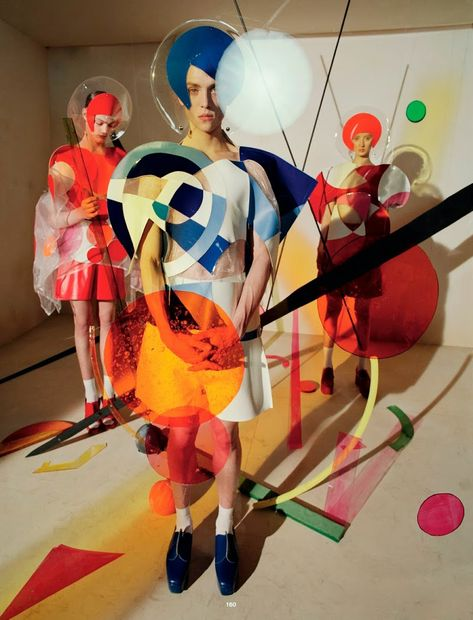 Charlie James, Jelle Haen, Lewis Pick and Miles Marsh shot by Tim Walker and styled by Clemence Lobert, for the Spring 2015 issue of Dazed & Confused magazine.