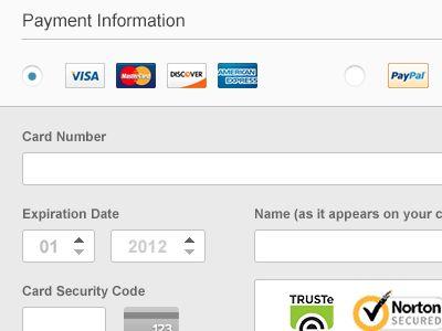 Credit Card Form  Form Design Ui Ux Design And Ux Design