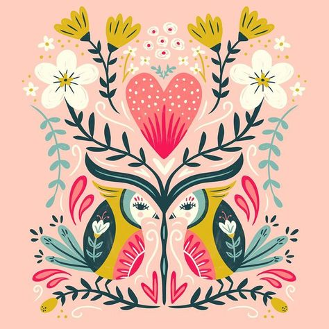 Monday's pattern play. . . . . #makeartthatsells #illustratorlife #digitalillustration #dailydraw #art_we_inspire #picame #photoshopart #licensing #artlicensing #surfacedesign #surfacepattern #printandpattern #floralpattern