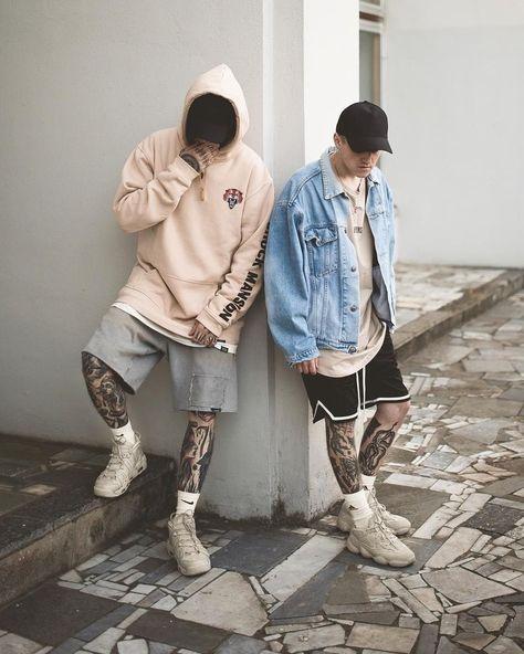 Nice 40 Gorgeous Men Street Styles Ideas. More at https://luvlyfashion.com/2019/05/09/40-gorgeous-men-street-styles-ideas/