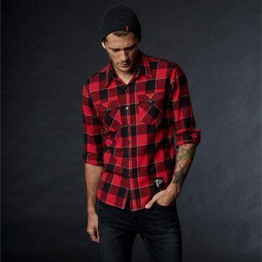 Levi's NFL Plaid Western Shirt Chambray