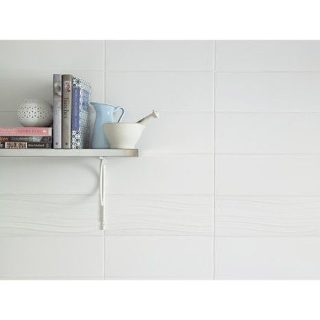 Carrelage mural Rubix mat ARTENS en faïence, blanc blanc n°0, 15 x ...