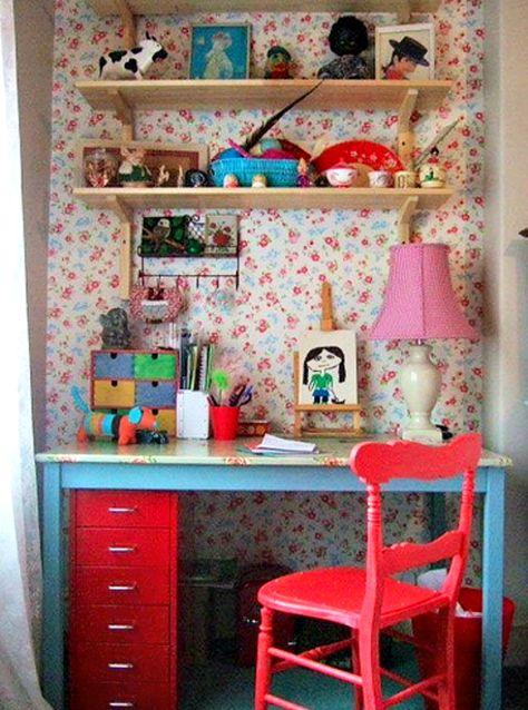 Vintage Home Style: Dormitorio infantil vintage