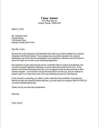 Resume Examples Cover Letter Basic Cover Letter Cover Letter