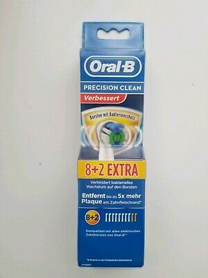 Advertisement 10 Braun Oral B Precision Clean Toothbrush Replacement Brush Head New Sealed Bo Replacement Brush Heads Toothbrush Replacement Clean Toothbrush