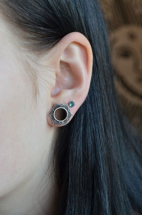 Vintage Double Flared Tunnel 10mm