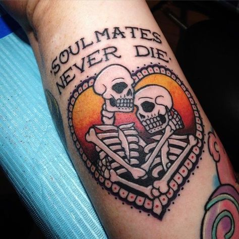 Good thing there's no such thing, then: the world would become overrun with zombies. #beautytatoos