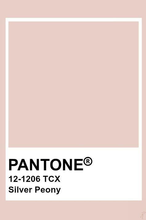 Pantone Silver Peony