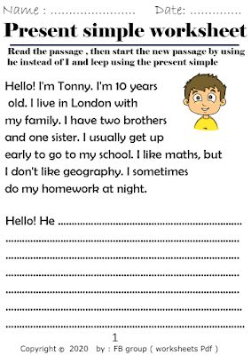 Worksheets And Teaching Resources Download Present Simple Worksheet Pdf File Simple Present Tense English Words Words