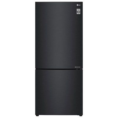 Lg 28 14 7 Cu Ft Counter Depth Bottom Freezer Refrigerator