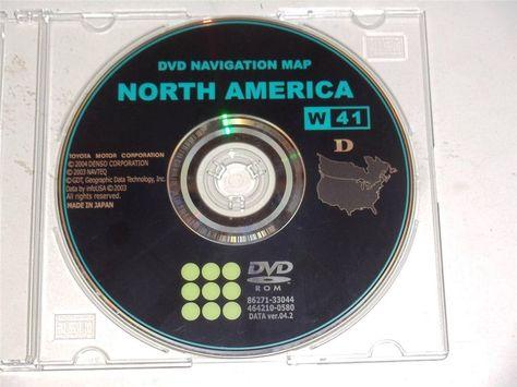 Genuine GM OEM Navigation System Map DVD North America 15906573U