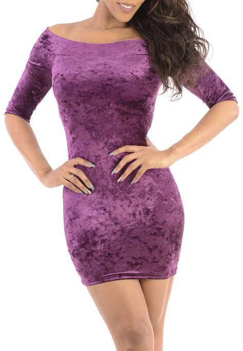 4dc32b10f2dbd Tip Toe Tap (Purple)- short mini club dress off the shoulders-Great Glam is  the web's best online shop for trendy club styles, fashionable party dresses  and ...