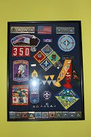 Home: Cub scout awards display