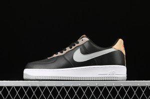 Mens Spring Shoes Nike Air Force 1 '07 black brown BV0322