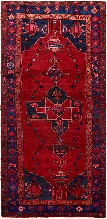 Red Koliaei Area Rug Persian Rug Runners Rugs Rugs On Carpet
