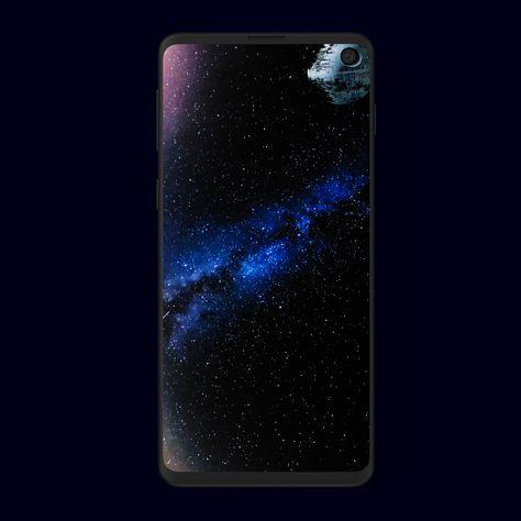 Samsung Galaxy S10/S10e Death Star wallpaper