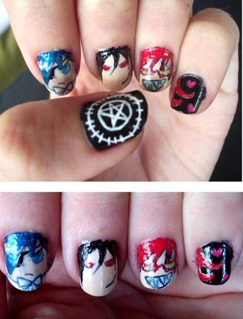 Black Butler nails