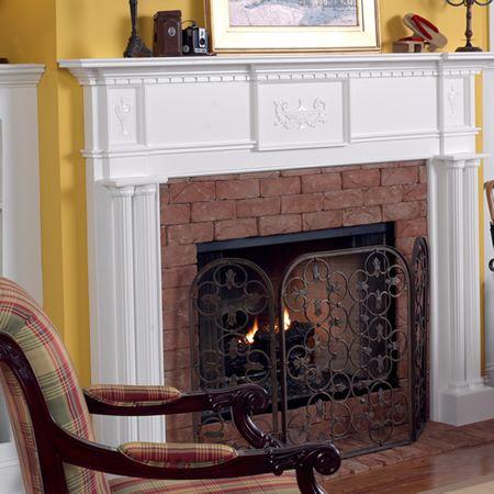 119 Besten Fireplaces U0026 Mantles Bilder Auf Pinterest | Kamine, Kaminsimse  Und Fassaden