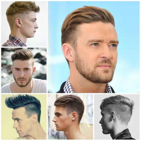 übergang Kurze Lange Haare Männer