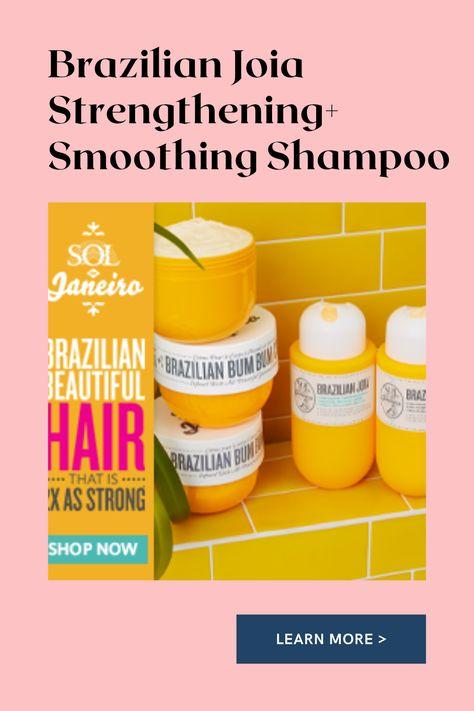 Brazilian Joia Strengthening+ Smoothing Shampoo,